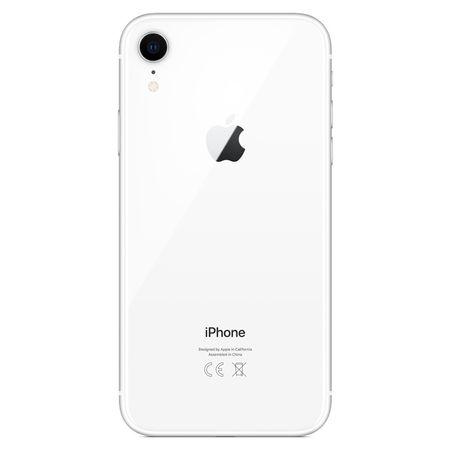 iPhone XR alb spate