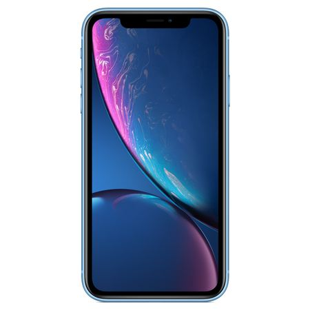 iPhone XR albastru