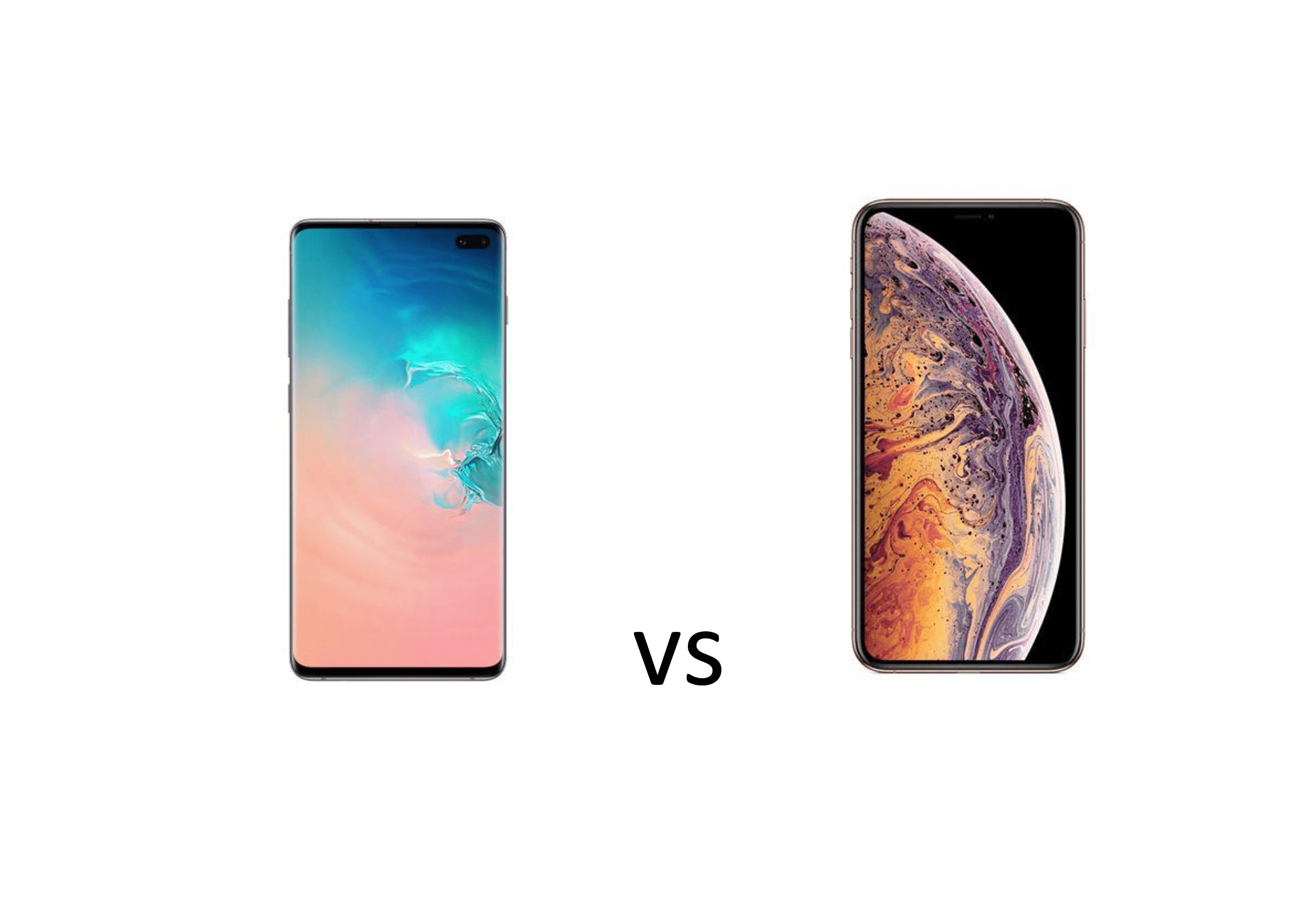 Samsung Galaxy S10 plus sau iPhone XS Max