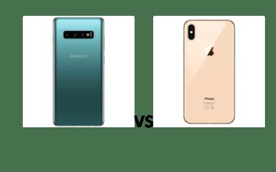Samsung Galaxy S10 plus sau iPhone XS Max-care are camera mai buna ?