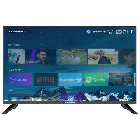 Pareri Televizor LED Smart Android Diamant 32HL4330H/A-smart tv ieftin